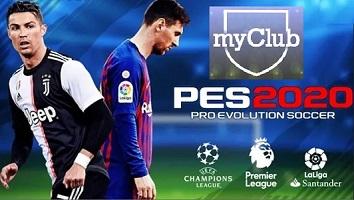pes 20 my club
